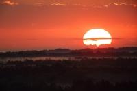 Zachód słońca, Słowiński Park Narodowy